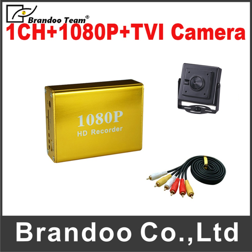 1080P Full HD Video Recorder DVR Kit Used for Home Office Home Security DVR Kit Support Max128GB SD Card Factory direct