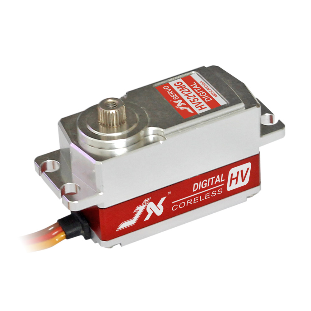 Superior Hobby JX PDI-HV5212MG High Precision Metal Gear Full CNC Aluminium Shell High Voltage Digital Coreless Short Servo superior hobby jx pdi 6208mg 8kg high precision metal gear digital standard servo