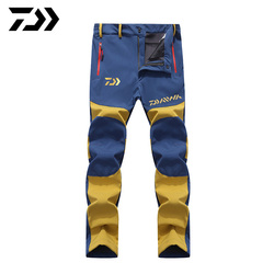 Daiwa Windproof Fishing Pants Men Fishing Trousers Outdoor Riding Hiking Camping Waterproof Breathable Quick Dry Fishing Clothes