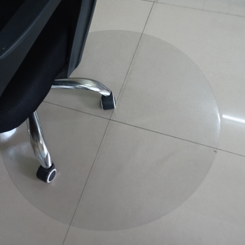 esteira de madeira piso proteção cadeira do