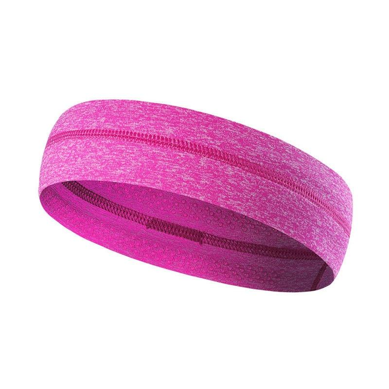 Running Sports Sweatband Headband Performance Stretch Elastic Head Hoop Moisture Fabric Wicking Men and Women Professional