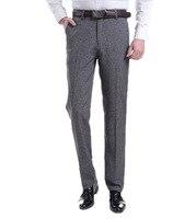 Yaz Moda Nefes Pantolon Keten Pantolon erkek Gevşek Rahat Pantolon Nefes Iş Iş Pantolon Düz Genel Artı Boyutu