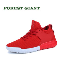 FOREST GIANT Summer Popular Men Fashion Casual Shoes Breathable Male 2018 Mesh Adult Lace Up Comfortable Footwear 3 colors A58