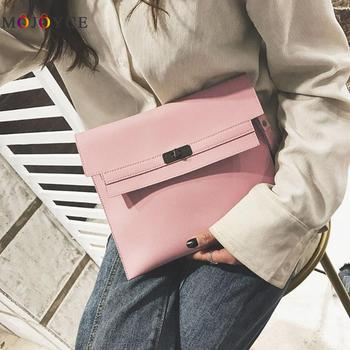 27x23x2cm Solid Laddies Day Clutch Casual PU Leather Handbags Famous Brands Designer Women Bag Bolsa Feminina