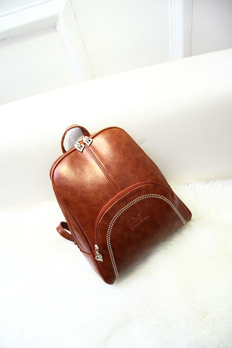 ФОТО Dual female backpack schoolbag College Wind shoulder bag fashion school season