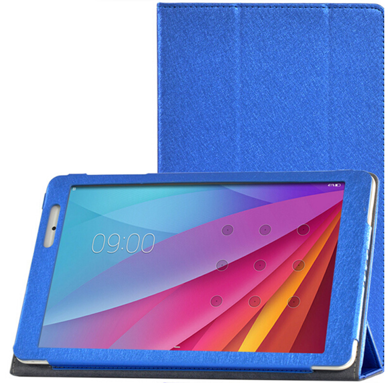 Nowe 3-folderowe luksusowe ultra-cienkie jedwabne wzory Folio Stand - Akcesoria do tabletów - Zdjęcie 5