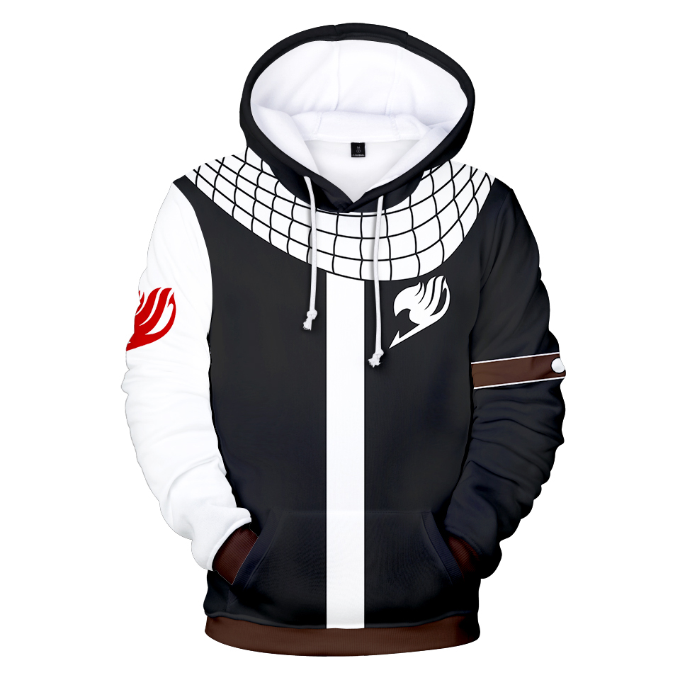 Fairy Tail 3D Hoodies Men/Women Casual Sweatshirts New Style 3D Print Fairy Tail Hoodies Boys/Girls Sweatshirt Men's Clothing