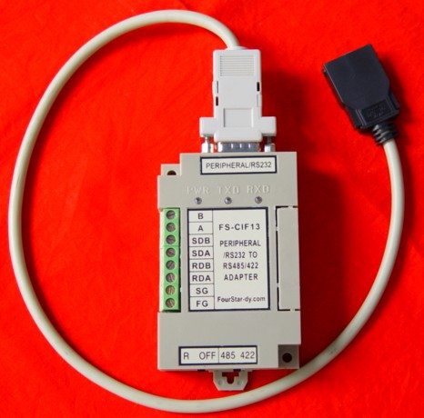 все цены на FS-CIF13:equal to CPM1-CIF11/CIF12+CS1W-CN114,the Peripheral port and RS232 to RS422/485 interface module for Omron PLC онлайн
