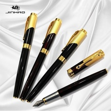 Jinhao 9009 Iraurita Business Fountain Pen Luxury pen Office Stationery Exquisite Gift Ink Pen Platinum Preppy Customized LOGO authentic picasso art palace fountain pen 907 signing pen ink device business calligraphy pen iraurita 0 5mm f birthday gift