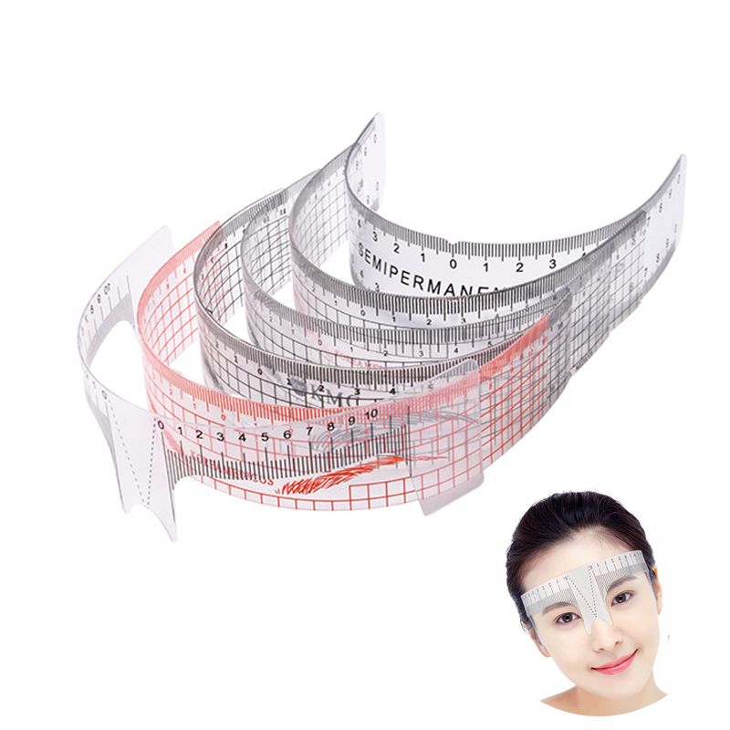 Eyebrow Rulers Tool  Measures Microblading Permanent Make Up Eyebrow Tattoo Position Ruler soccer-specific stadium