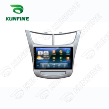 Quad Core 1024*600 Android 5.1 Car DVD GPS Navigation Player Car Stereo for Chevrolet SAIL 2015 Deckless Bluetooth Wifi/3G