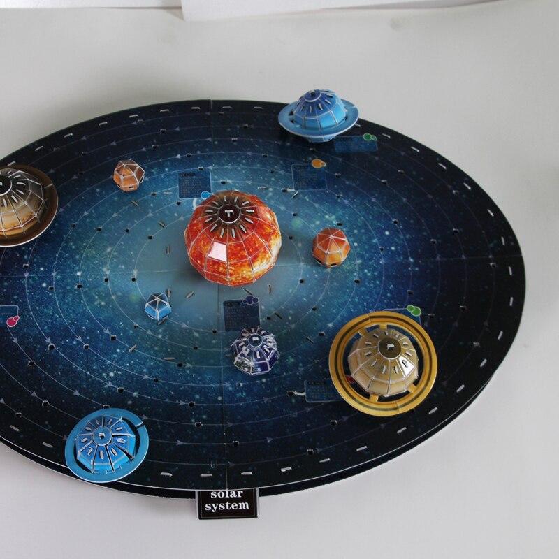 Children Toy Gift Paper 3d Puzzle Model Solar System Paper Model Diy