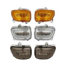 Front LED Turn Signals For Honda Goldwing GL1800 GL 18002001-2017 F6B 13-17 2013 2014 2015 2016 недорого