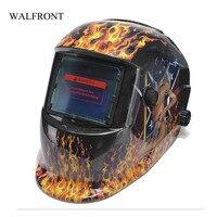 WALFRONT Filtro Solar Auto Escurecimento Capacete de Soldagem Máscara De Solda Elétrica Cabeça Cap Olhos Protetor Soldadores Máscara de Impressão Sexy