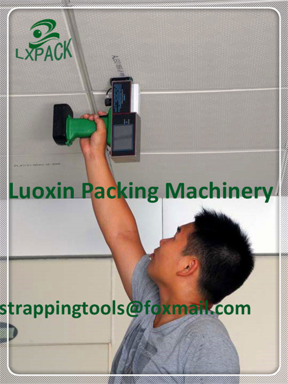 LX-PACK Patent Brand Lowest Factory Price Hand Inkjet Printer Mobile ink jet coding machine Online inkjet printer for conveyor hand jet printer price