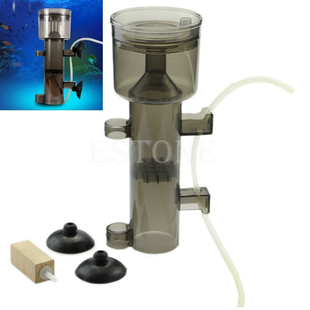 Resun aquarium fish tank - Aquarium Protein Skimmer Fish Tank Collector Waste Filter Wood Tool New China Mainland