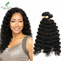 7A Malaysian Deep Wave Beau Diva Malaysian Virgin Hair Deep Curly 3 Bundles Tangle Free Human Hair Malaysian Curly Hair Weave