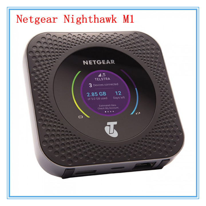 dhl free unlocked netgear nighthawk m1 mr1100 wifi router. Black Bedroom Furniture Sets. Home Design Ideas