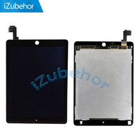 100% Warranty Black and white LCD Screen Display With Touch Screen Digitizer Panel Assembly For ipad air 2 For ipad 6