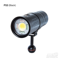 SUPE 2018 NEW Scubalamp P53 Professional diving photography lights multifunctional multicolor intelligent lamp