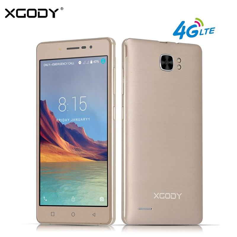 bilder für XGODY X17 Pro 5,0 Zoll 4G LTE Smartphone Android 7.0 MTK6737 1 GB RAM 16 GB ROM Quad Core 1280*720 HD 8MP Handy Telefon GPS