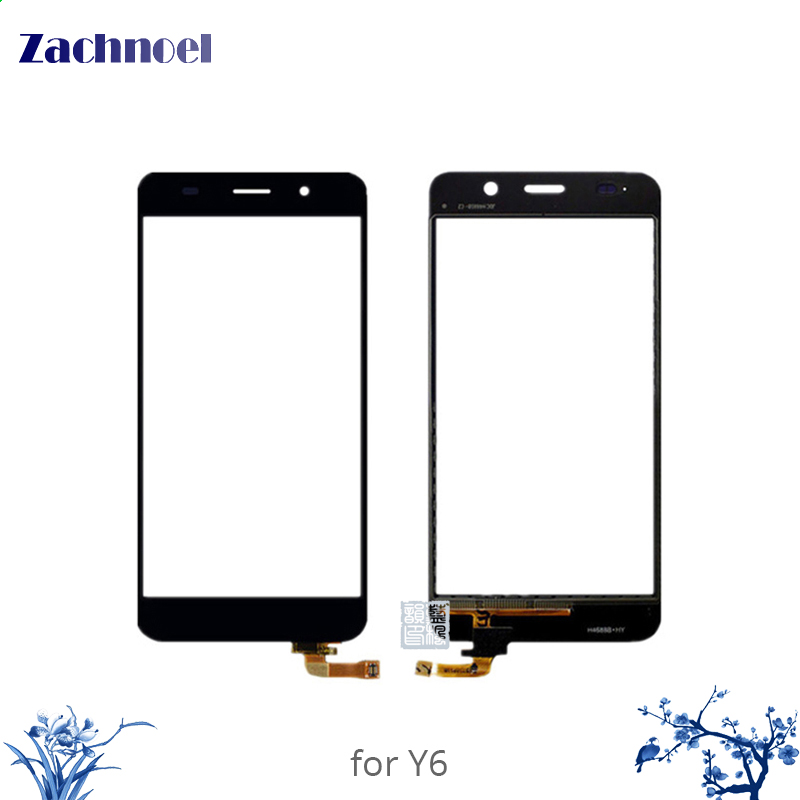 10pcs 5.0'' Touch Panel for Huawei Honor 4A Y6 4G SCL-L21 Touch Screen Digitizer Sensor Front Glass Lens Panel Touchscreen