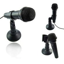 Wholesale New Dropship Mic Microphone for Laptop Notebook PC Skype VOIP MSN