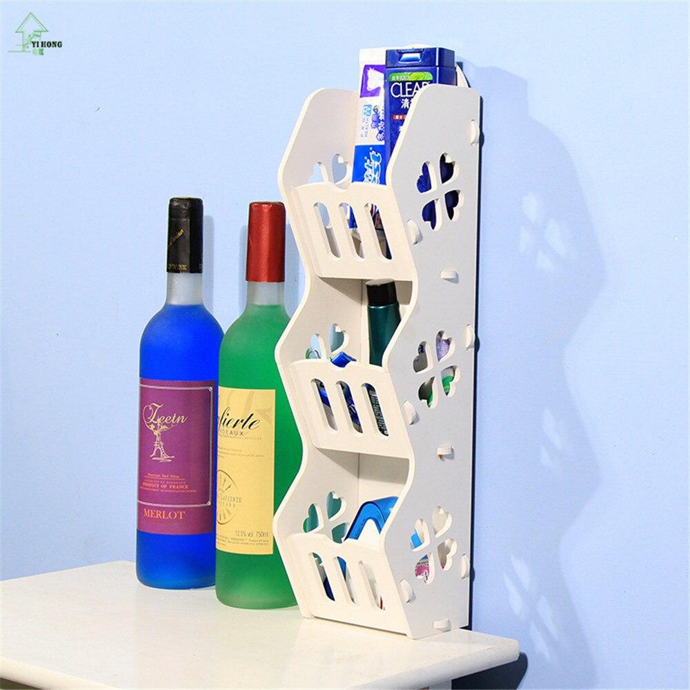 Diy Abnehmbare Holz Kunststoff Board Rack Badezimmer