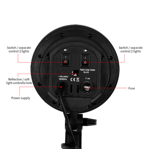 Image 4 - อุปกรณ์ถ่ายภาพสตูดิโอถ่ายภาพกล่องนุ่มชุดวิดีโอสี่ cappedโคมไฟแสง 50x70cm Softboxภาพกล่อง