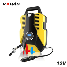 VXDAS Digital Tire Inflator DC 12V Auto/Car Inflatable Pump 150 PSI Pressure Gauge With LED Light Air Compressor Diagnostic Tool