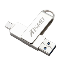 Kismo USB Flash Drive Pen Drive For Samsung S8 S9 Note 8 Huawei P10 P20 Mate 9 10 XiaoMi Mi6 Mi8 5X