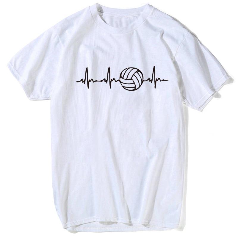 2b629d560a8b 2018 Summer Style T Shirt Men Fashion Volleyballer women T-Shirt by  Spreadshirt Big Size