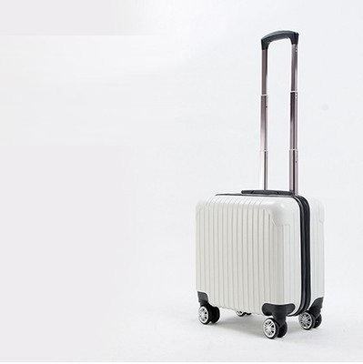 16 INCH  16# Gift custom 16 new high-end business travel trolley suitcase solid board chassis #EC FREE SHIPPING