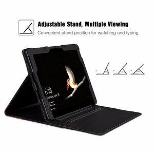 Image 5 - Case Voor Microsoft Oppervlak Gaan, meerdere Kijkhoek Slim Folding Stand Cover /Pen Houder En Document Kaartsleuven Business Cover