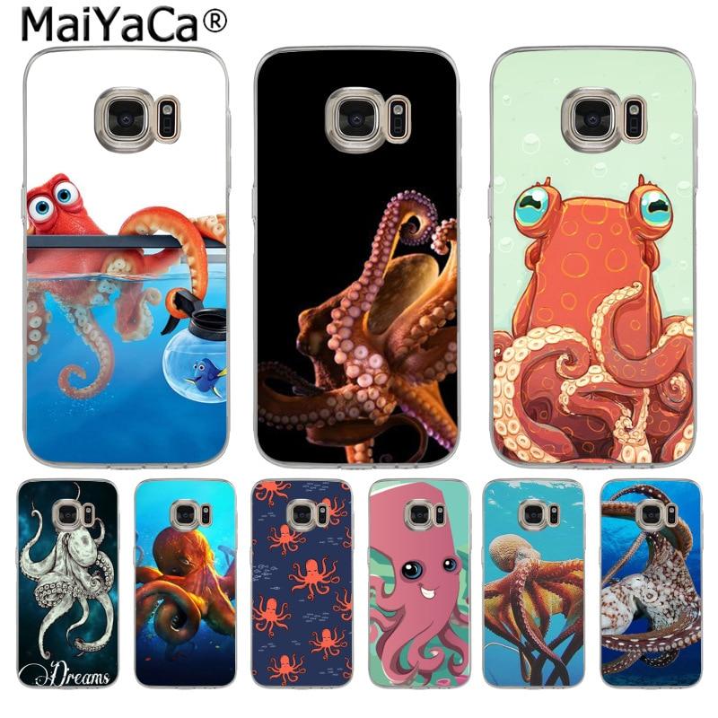 Maiyaca животных Осьминог Высокое качество классический телефон Интимные аксессуары чехол для Samsung S3 S4 S5 S6 S6Edge s6plus S7 S7edge S8 s8plus