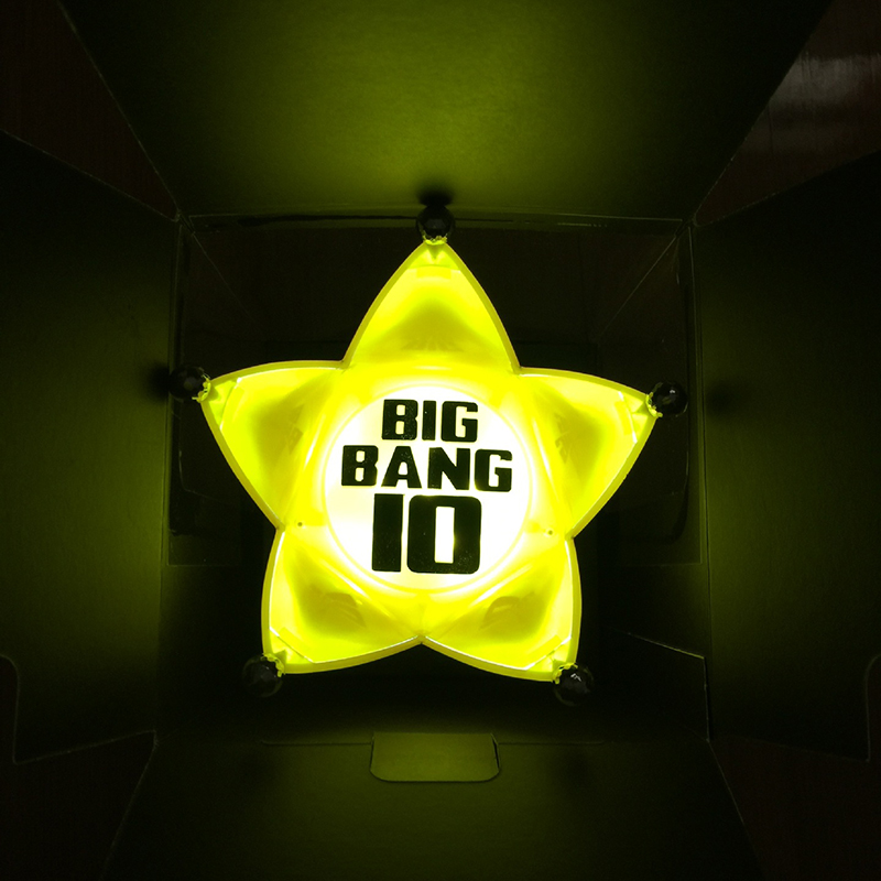 Great BIGBANG Light Stick V4 K POP 10th Anniversary Crown Lights Concert Inspirit  Flashlight Glow Lamp Action Figure New In Box In Action U0026 Toy Figures From  Toys ... Nice Design