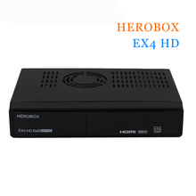 HEROBOX EX4 HD Récepteurs Satellite DVB-S2 Tuner + 109A T2/C Tuner BCM7362 751 MHZ Dual-core 512 MB RAM (2*256 MB DDR3)