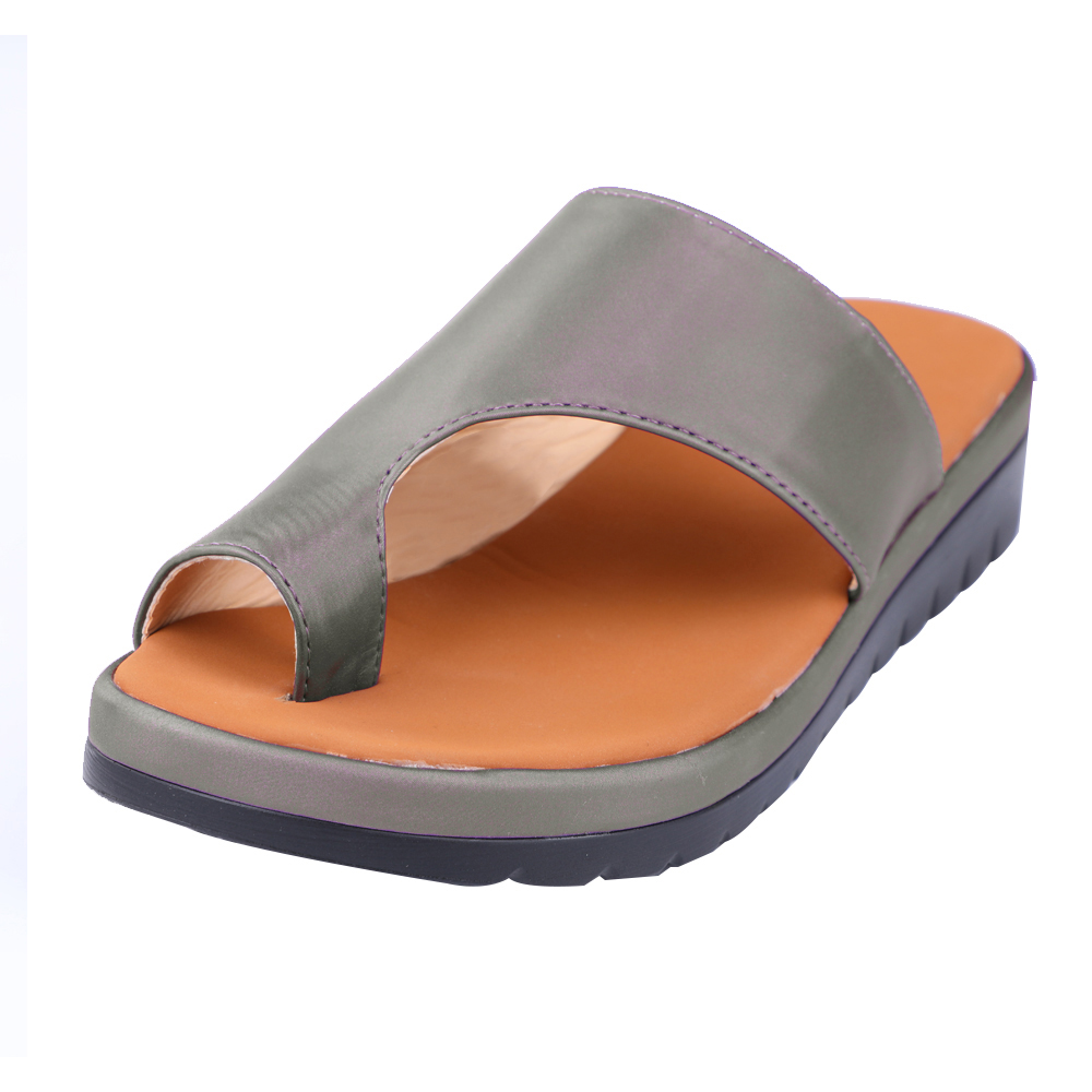 Sandal Corrector Shoes Orthopedic Bunion Women Flat-Sole Casual Ladies Soft Terlik