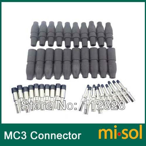 10 pares lote mc3 conector do adaptador macho e femea tuv conector de energia fotovoltaica