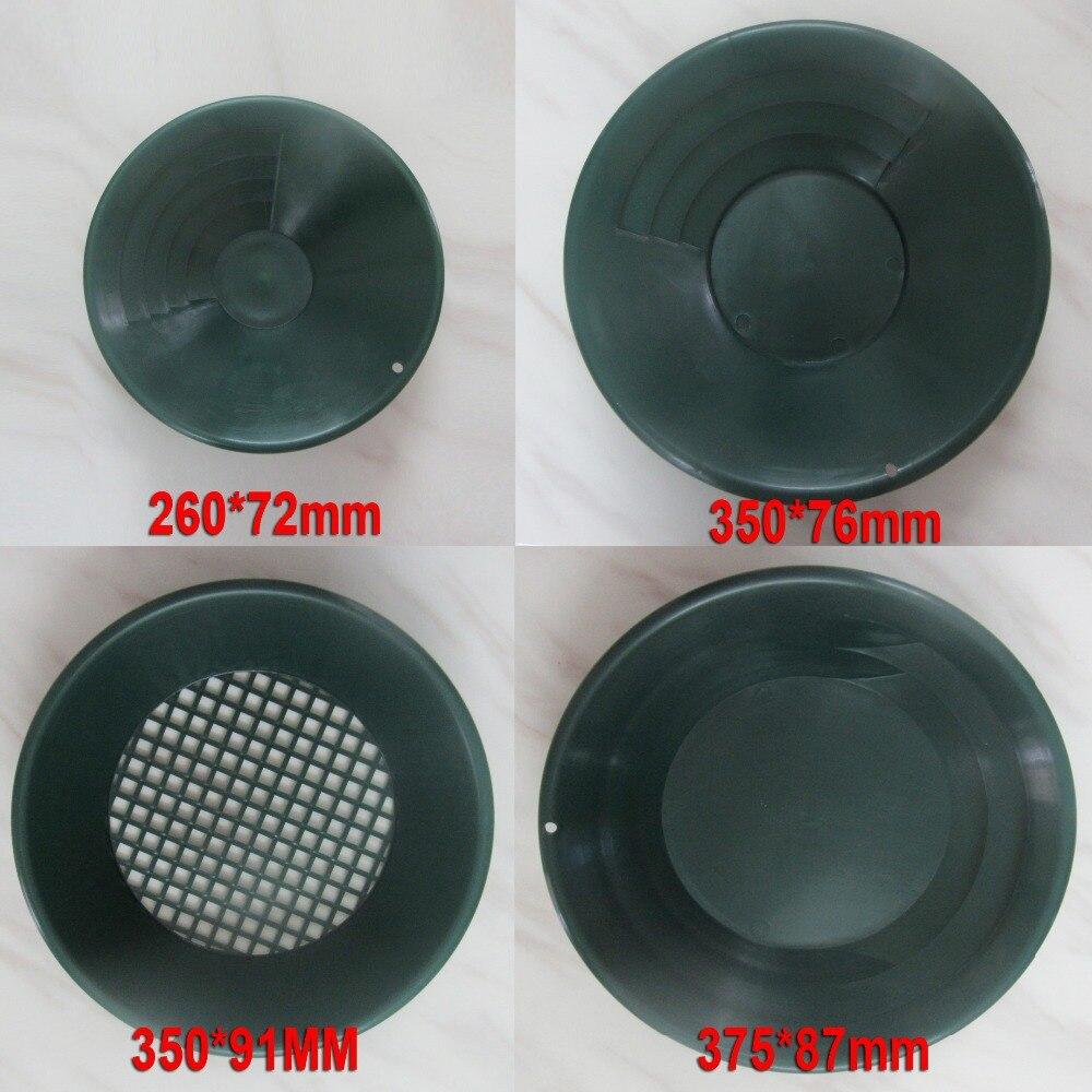 Ruée vers l'or tamisant classificateur écran tamis Pan souterrain détecteur de métaux outils de soutien complet or panoramique traitement or