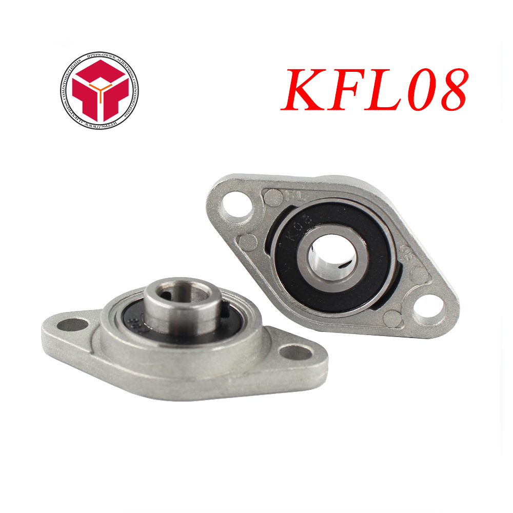 2PCS/LOT. NEW 8mm diameter zinc alloy bearing housing KFL08 FL08 K08 flange bearing with pillow block bearing цена 2017