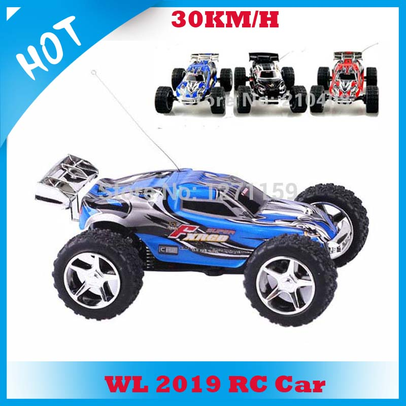 WL2019 1:32 high speed RC car 30km/h 5 speed racer gears remote control monster truck toy