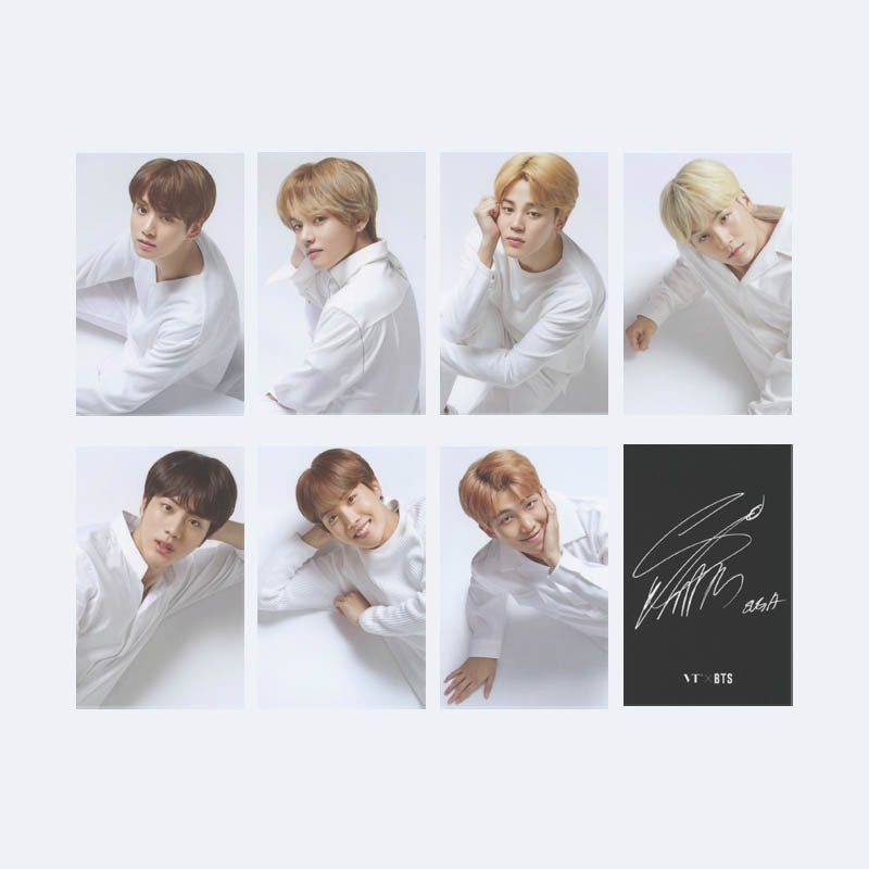 Kpop Bts Bangtan Boys Army The Wings Tour Final Album Photo Card Hip Hop Self Made Paper Cards Autograph Photocard Xk540 Fast Color Jewelry Findings & Components