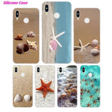 Silicone Case sea shell wave starfish for Huawei P Smart 2019 Plus P30 P20 P10 P9 P8 Lite Mate 20 10 Pro Nova 3i Cover