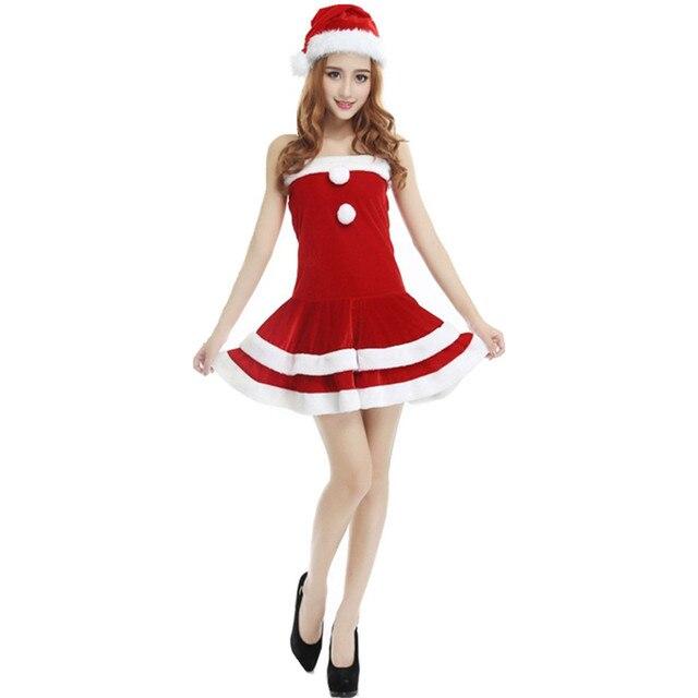 Sexy weibliche Weihnachtsmann