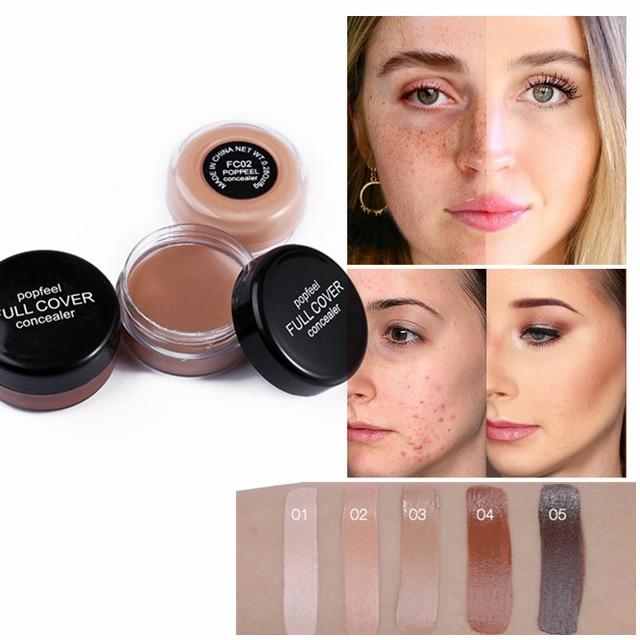 Консилер для лица с полным покрытием, кремовая палитра, бронзант, контур 3D, брендовый макияж для лица, корректор кожи телесного цвета|Консилер|   | АлиЭкспресс