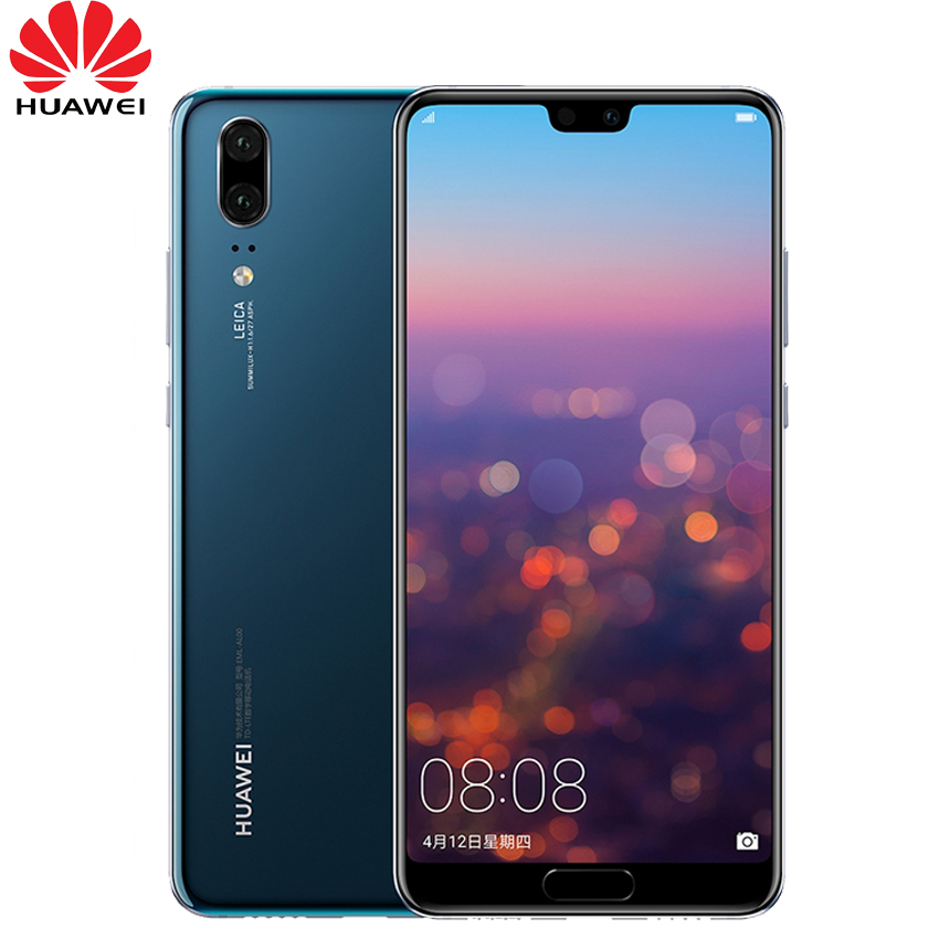 In Stock Huawei P20 Full LTE Band AI Smartphone Dual Rear Camera 5 8 inch Full