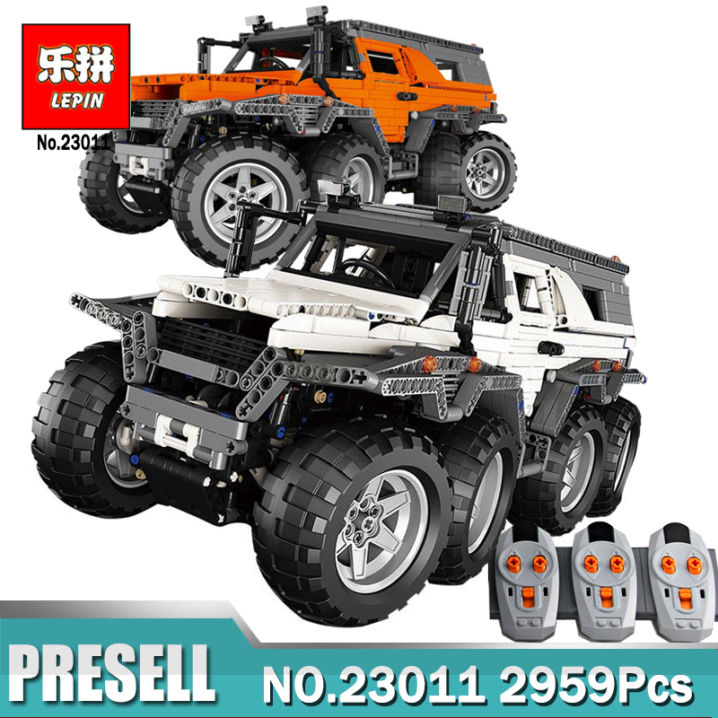 New LEPIN 23011 Off-road Vehicle Model Educational Building Kits Block Bricks Compatible Legoing 5360 Technic Serie Toys Gifts decool 3114 city creator 3in1 vehicle transporter building block 264pcs diy educational toys for children compatible legoe