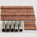 MIG/MAG Kontakt Tipp/Düsen + Schild Tassen 15AK-01 Für MB 15AK MIG/MAG Schweißen Fackel Verbrauchs zubehör  145 teile/satz