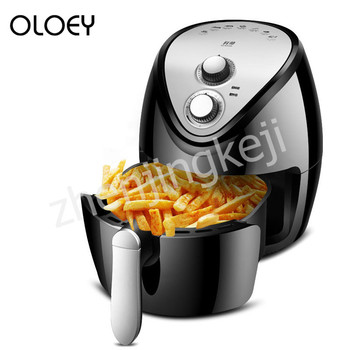 220V Household Air Fryer large Capacity New Generation intelligent Smoke-free Fries Machine 1300W Electric Fryer air frying pan new special price large capacity intelligent oil smoke free fries machine automatic electric frying pan 220v 3l